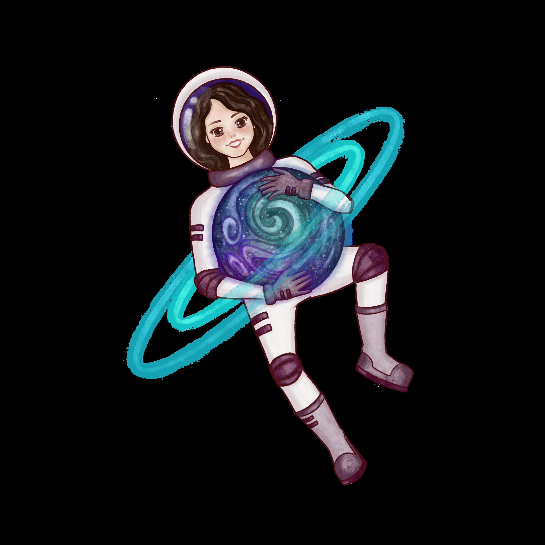 Oriana Trejo – Astrodivulgación Logo